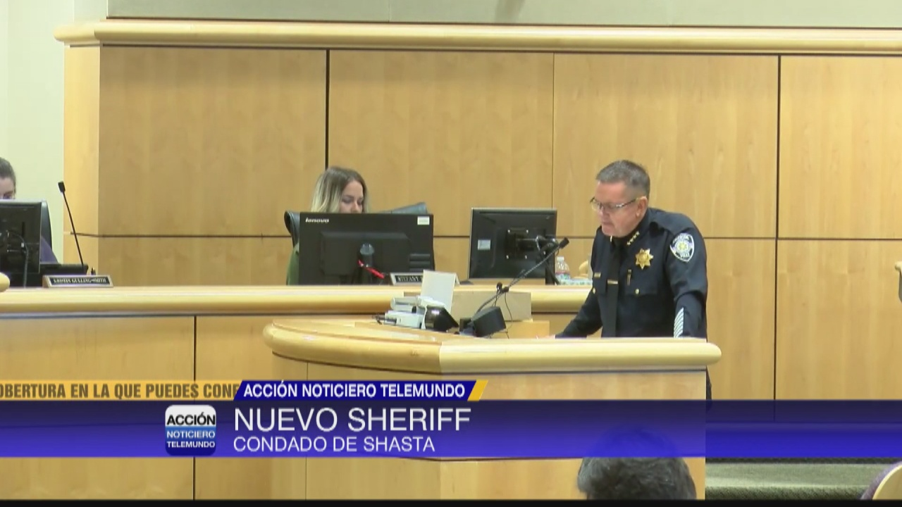 Image for Condado de Shasta nombra nuevo alguacil