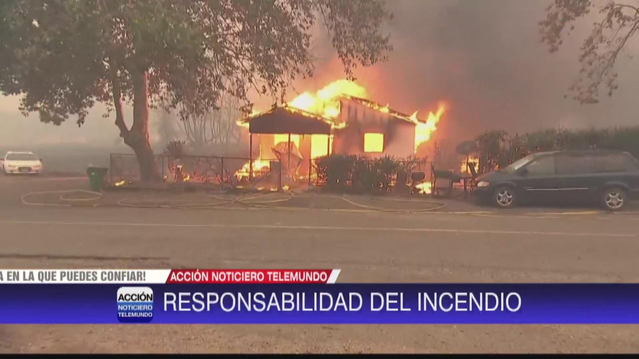 Image for PG&E responsable sobre el incendio Zogg