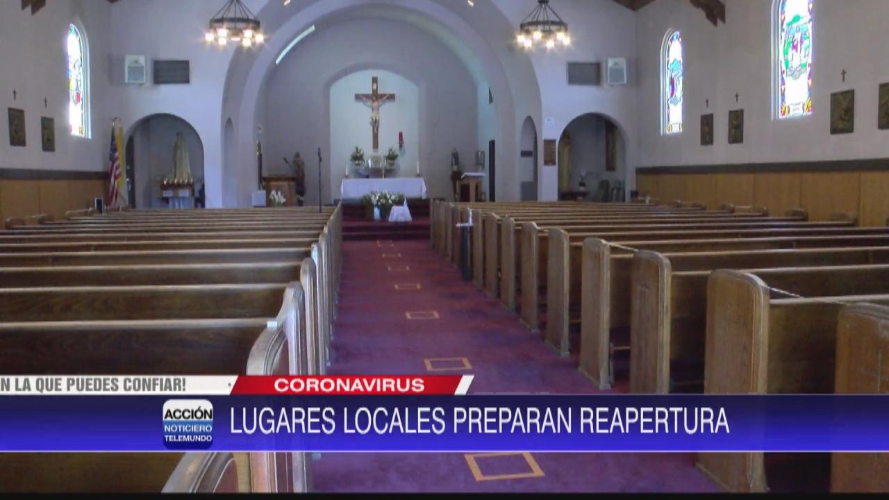 Image for Lugares de culto se preparan para reabrir