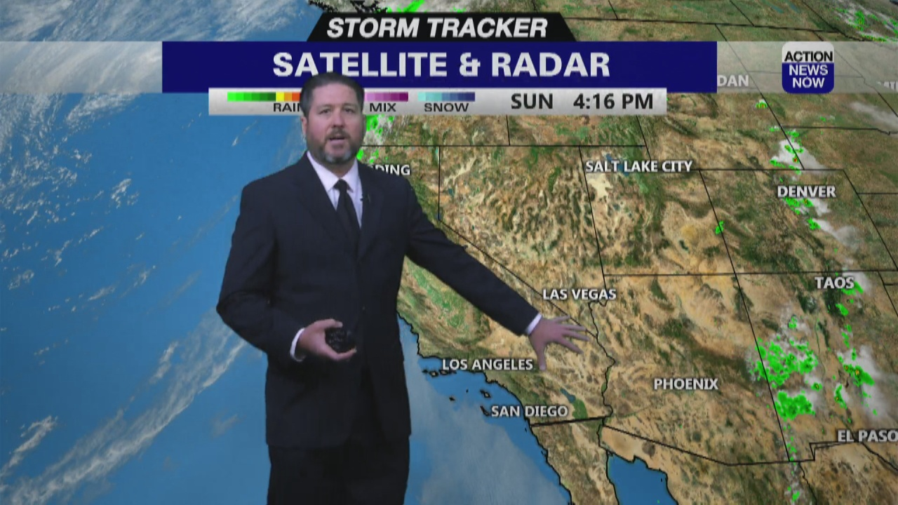 Image for Storm Tracker Forecast - Extreme heat returns by midweek
