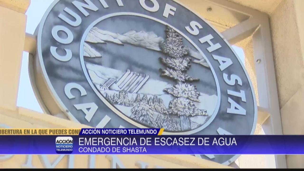 Image for Shasta declara emergencia por sequia