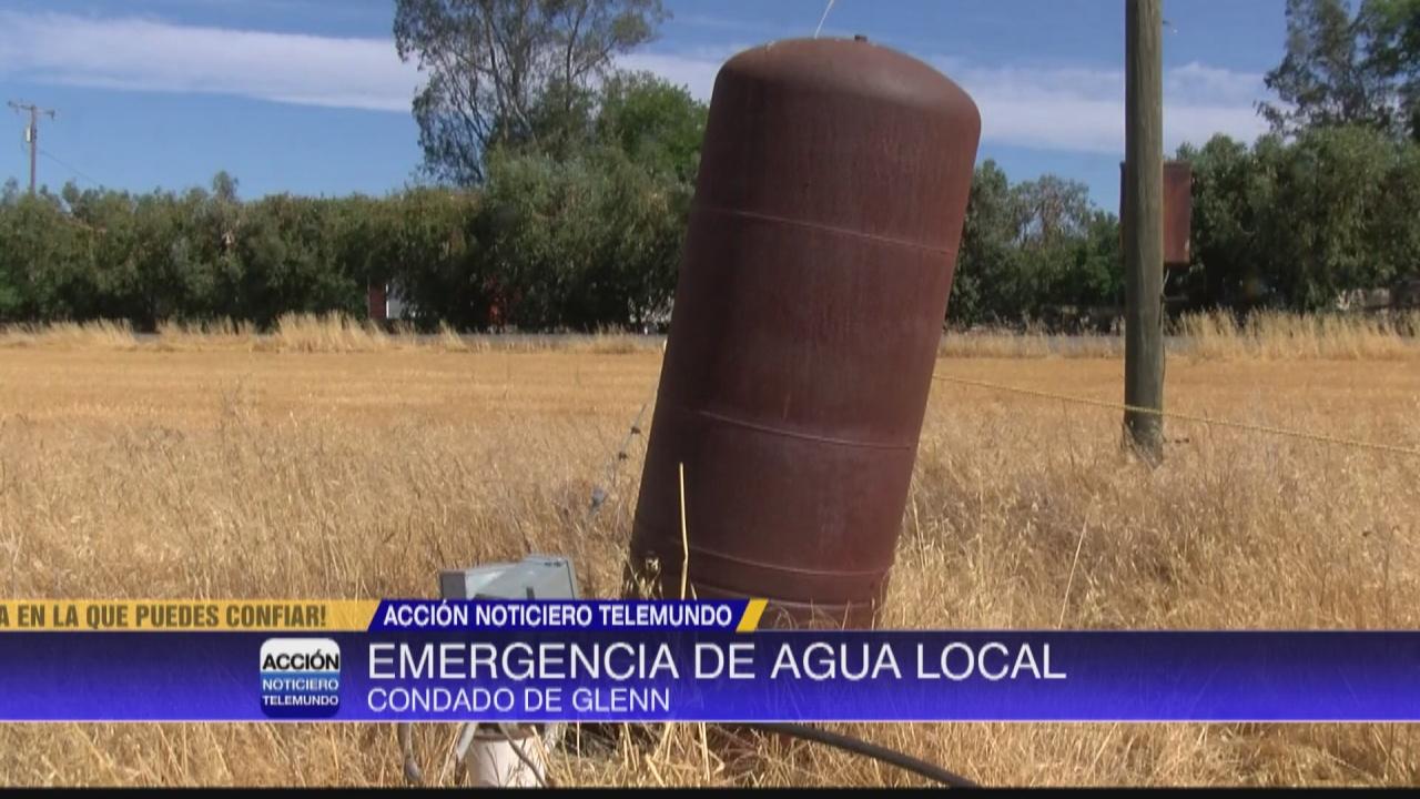 Image for Condado de Glenn declara emergencia local de sequía