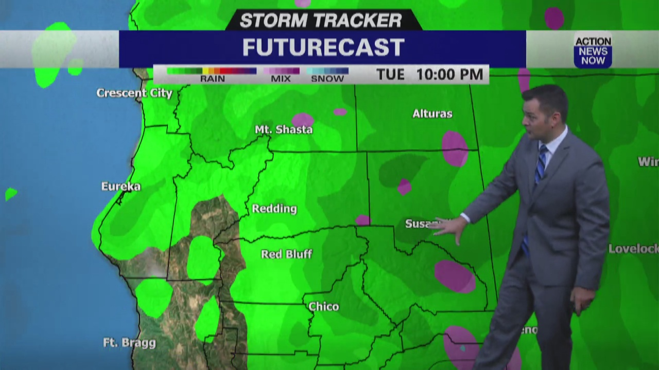 Image for Storm Tracker Forecast: Hot end to this week, but feeling like Fall next week