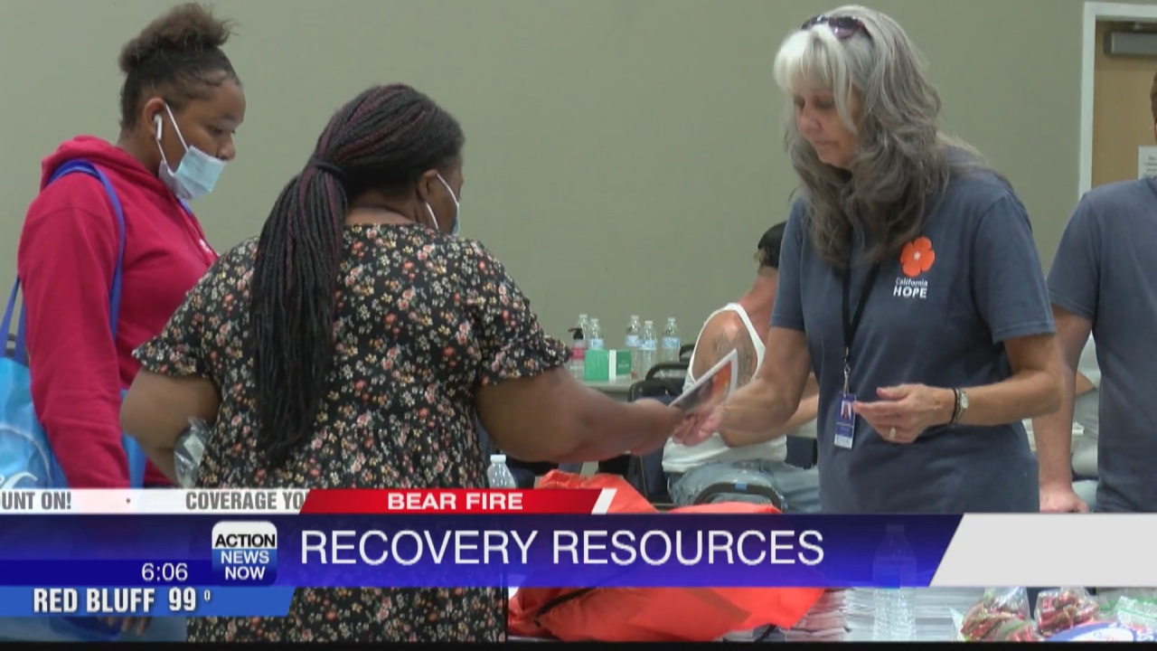Image for Bear Fire survivors receive recovery resources in Oroville
