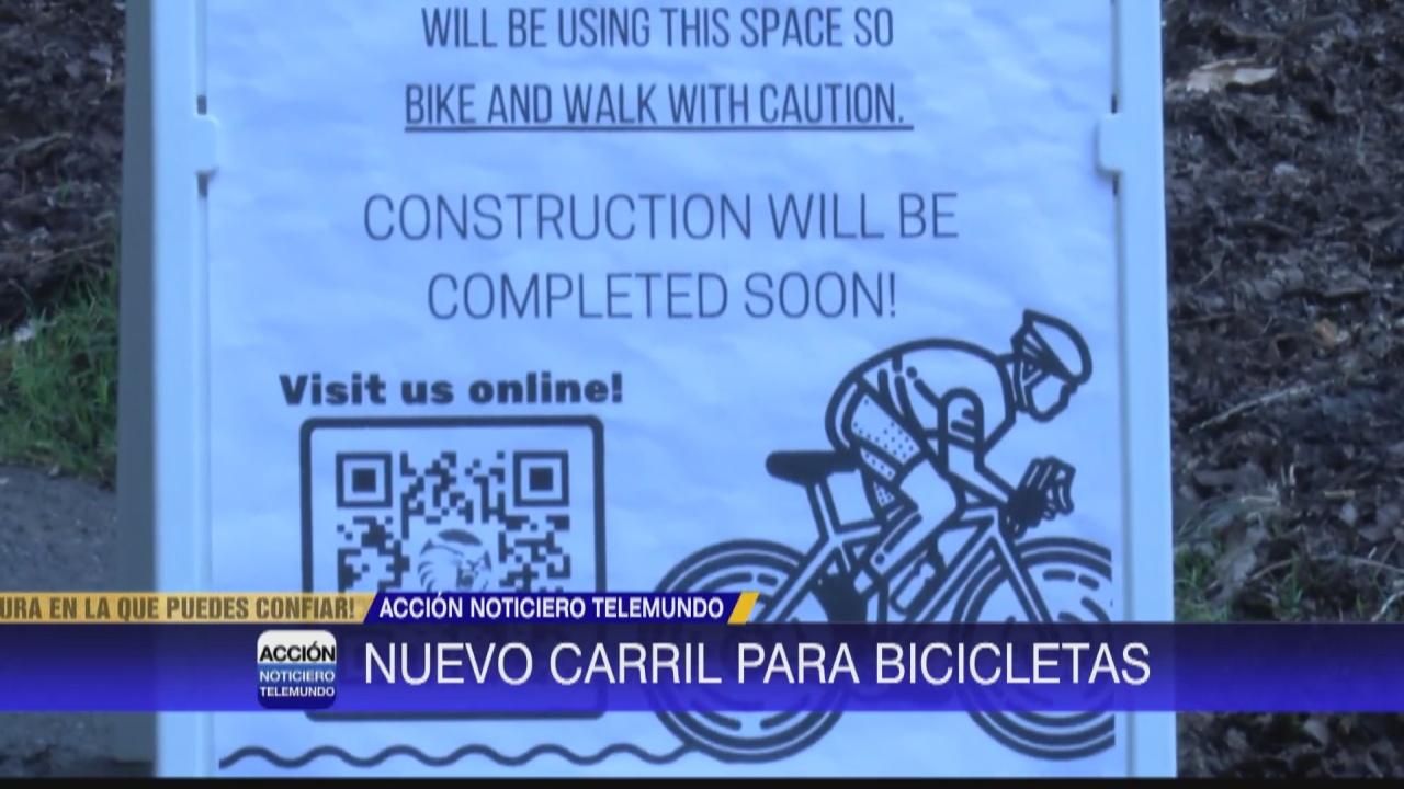 Image for Nuevo carril para bicicletas en Chico State