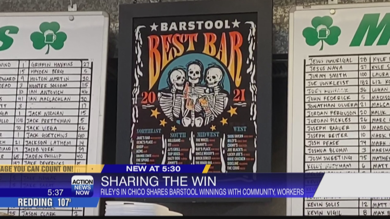 Image for Riley's Bar sharing Barstool Sports prize money with the community