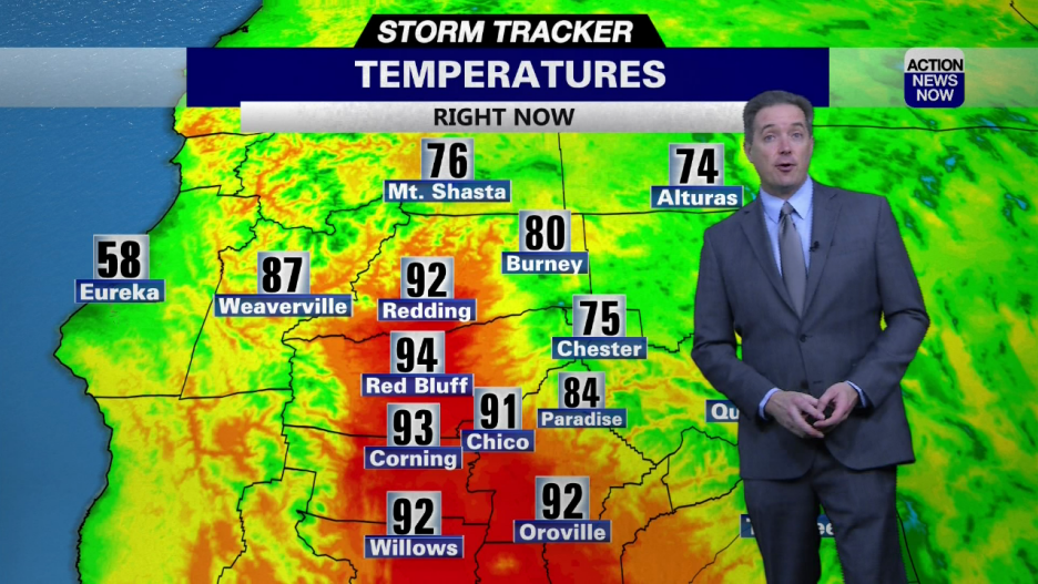 Image for Storm Tracker Forecast - Wednesday Will Be Quite Hot In The Valley