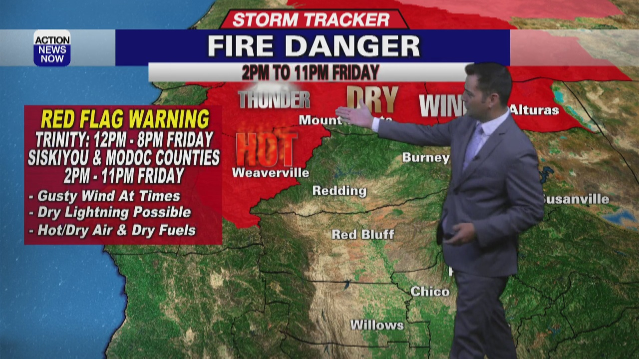 Image for Storm Tracker Forecast: Staying hot with more thunderstorms Friday