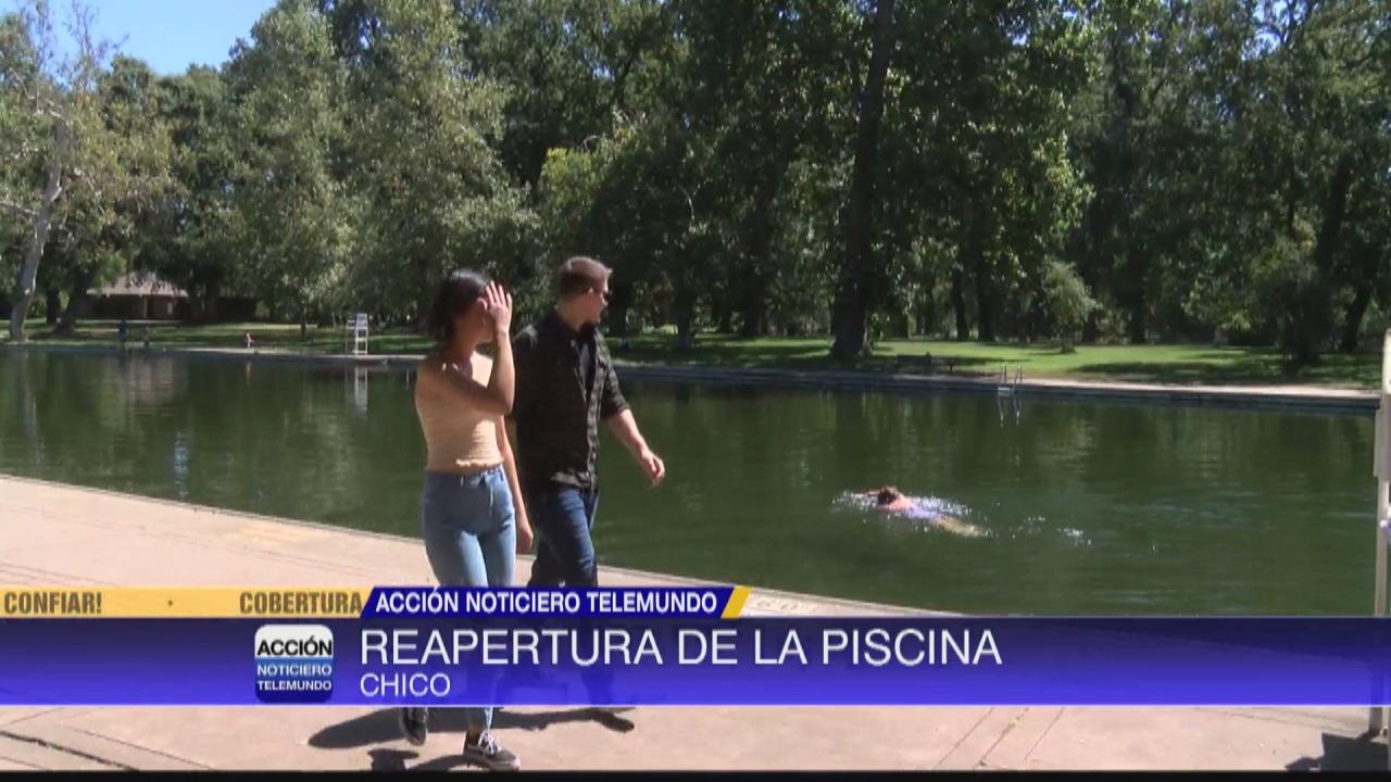 Image for Reapertura de la piscina 'Sycamore Pool'