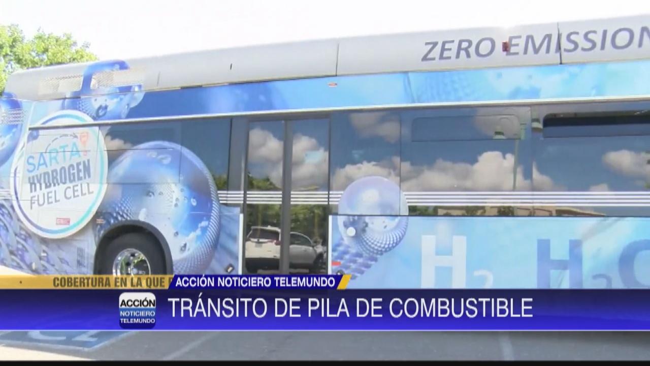 Image for Autobús impulsado por combustible de hidrógeno