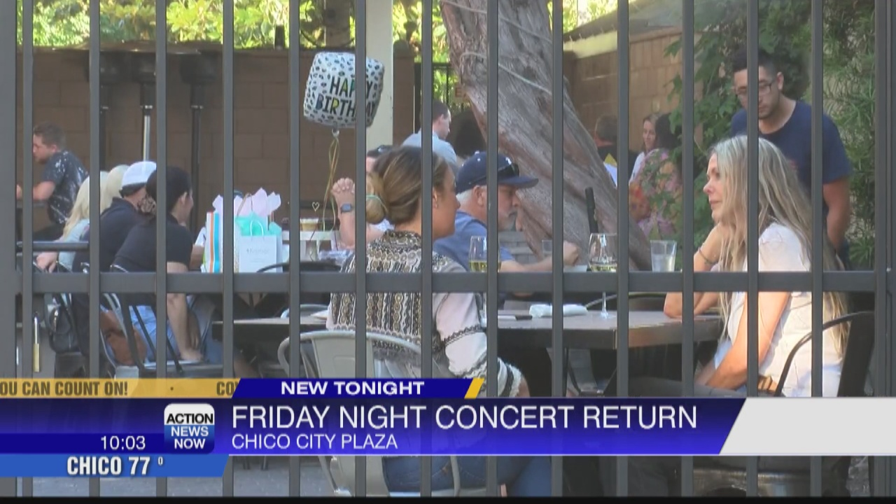 Image for Downtown Chico Businesses excited for Friday Night Concert return