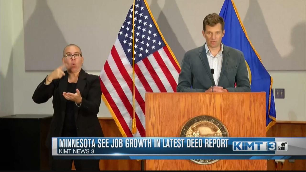 Image for Minnesota Job Growth