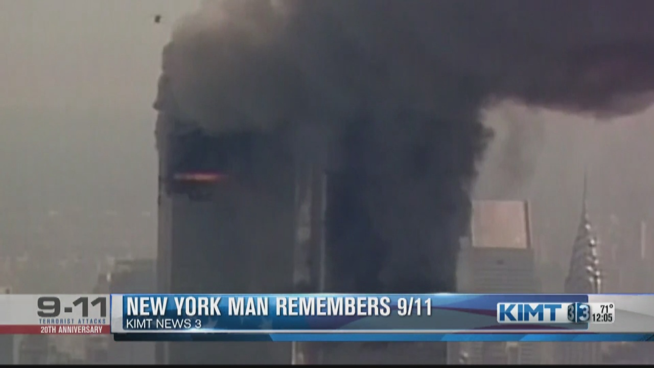 Image for New York man who worked inside the World Trade Center remembers 9/11: 'I still have nightmares from that day'