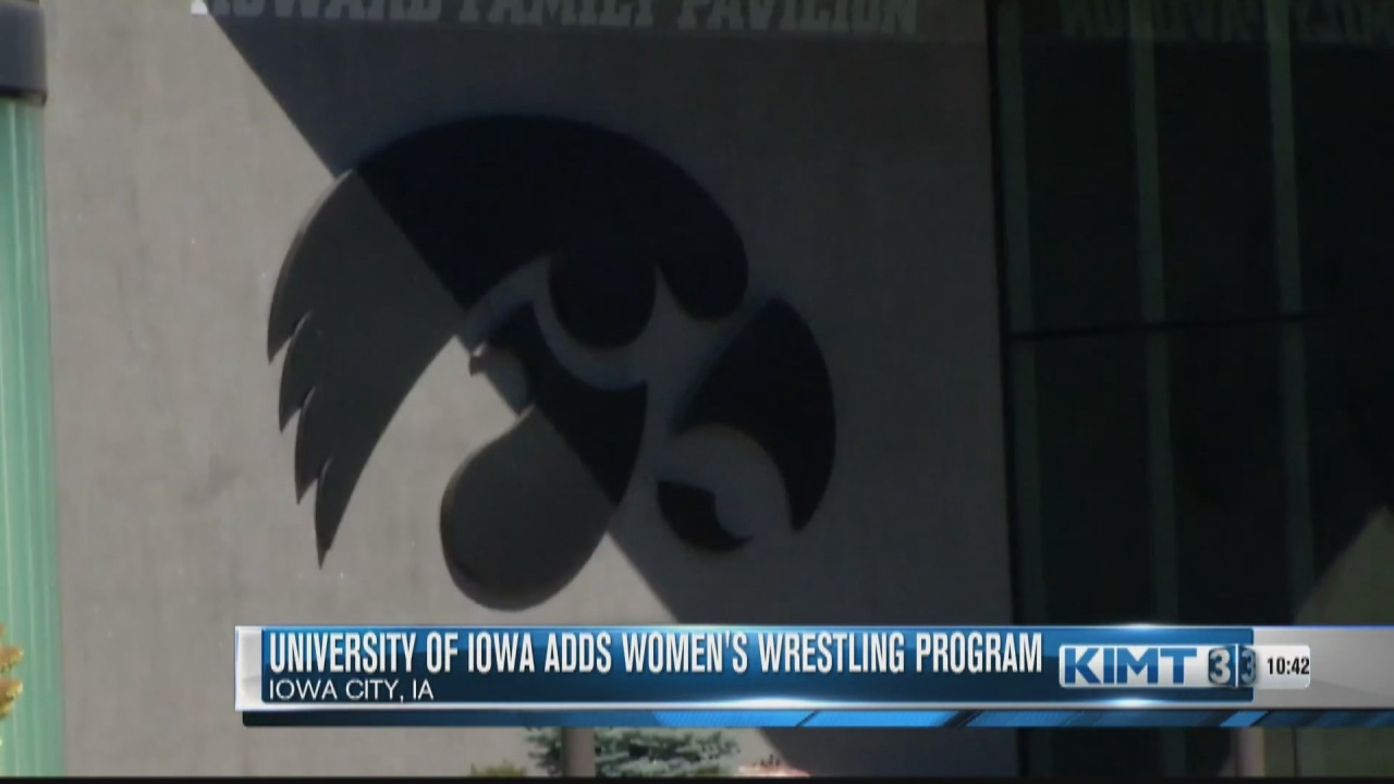 Image for North Iowa wrestling coach weighs in on the addition of a women's wrestling team at the University of Iowa