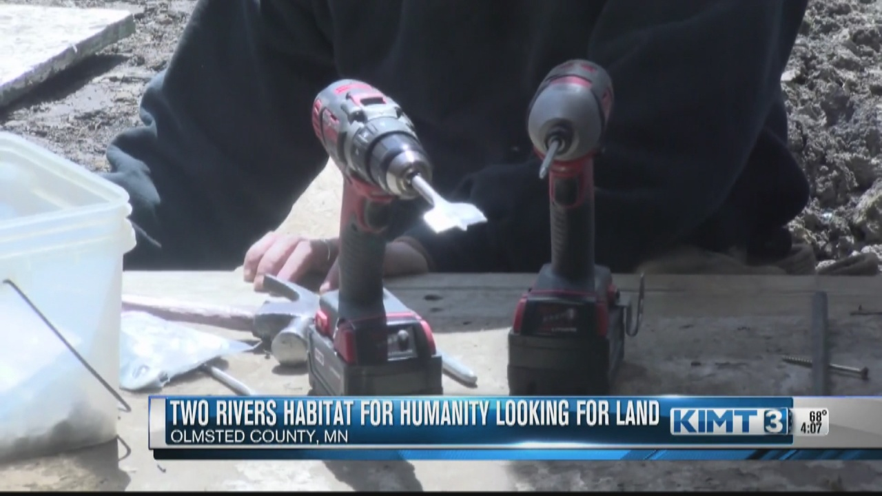 Image for Two Rivers Habitat for Humanity looking for more land