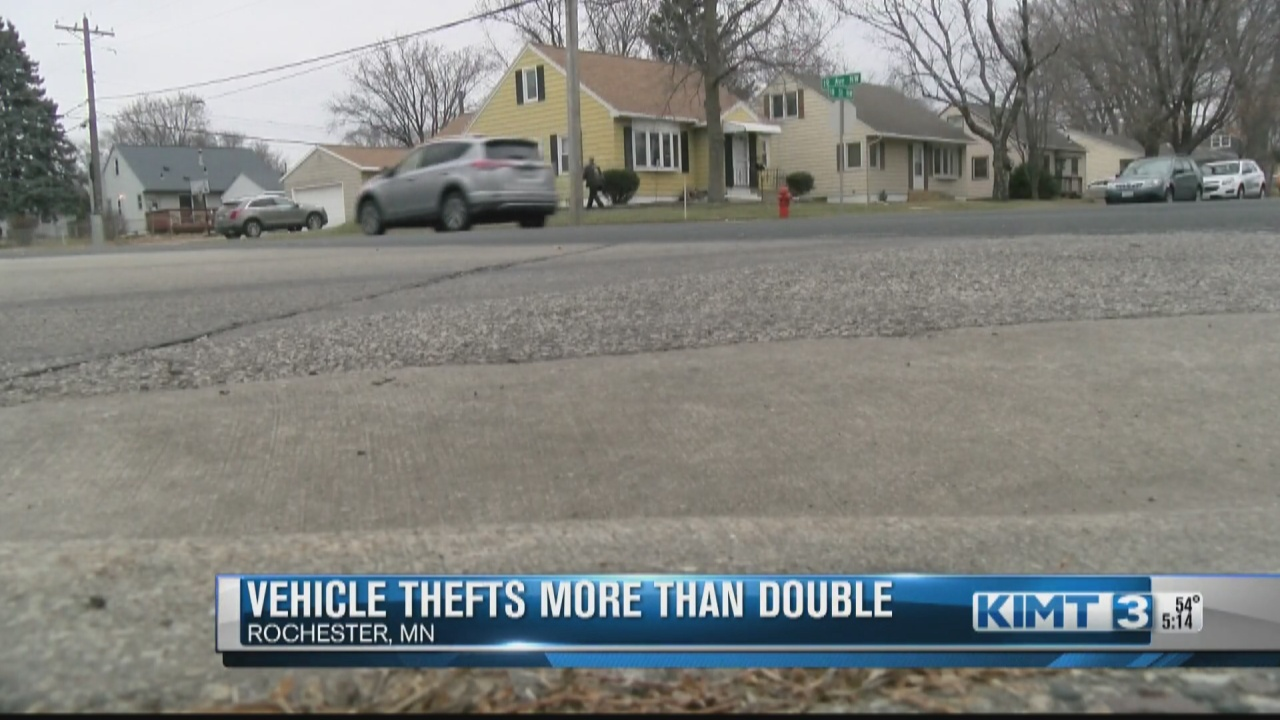 Image for Car Thefts Increase