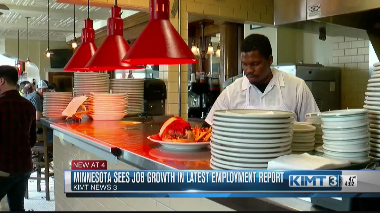 Image for Minnesota sees job growth in latest jobs report