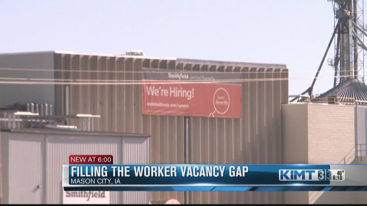 Image for Addressing workforce shortage in North Iowa