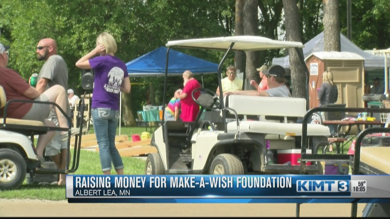 Image for Albert Lea campers raise money for Make-A-Wish Foundation
