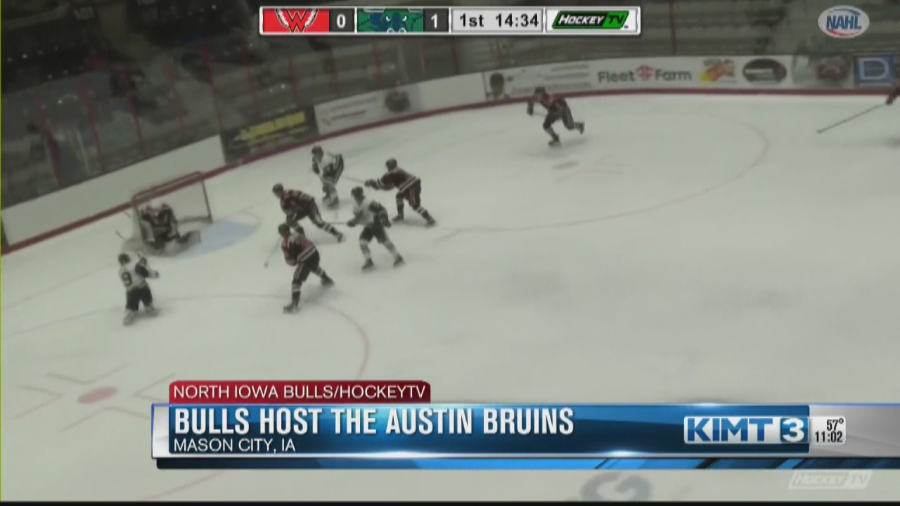 Image for The rivalry begins as the North Iowa Bulls host the Austin Bruins