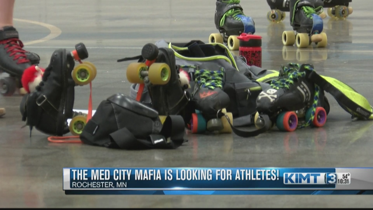 Image for The Med City Mafia roller derby team is looking for competitors wanting to lace up their skates