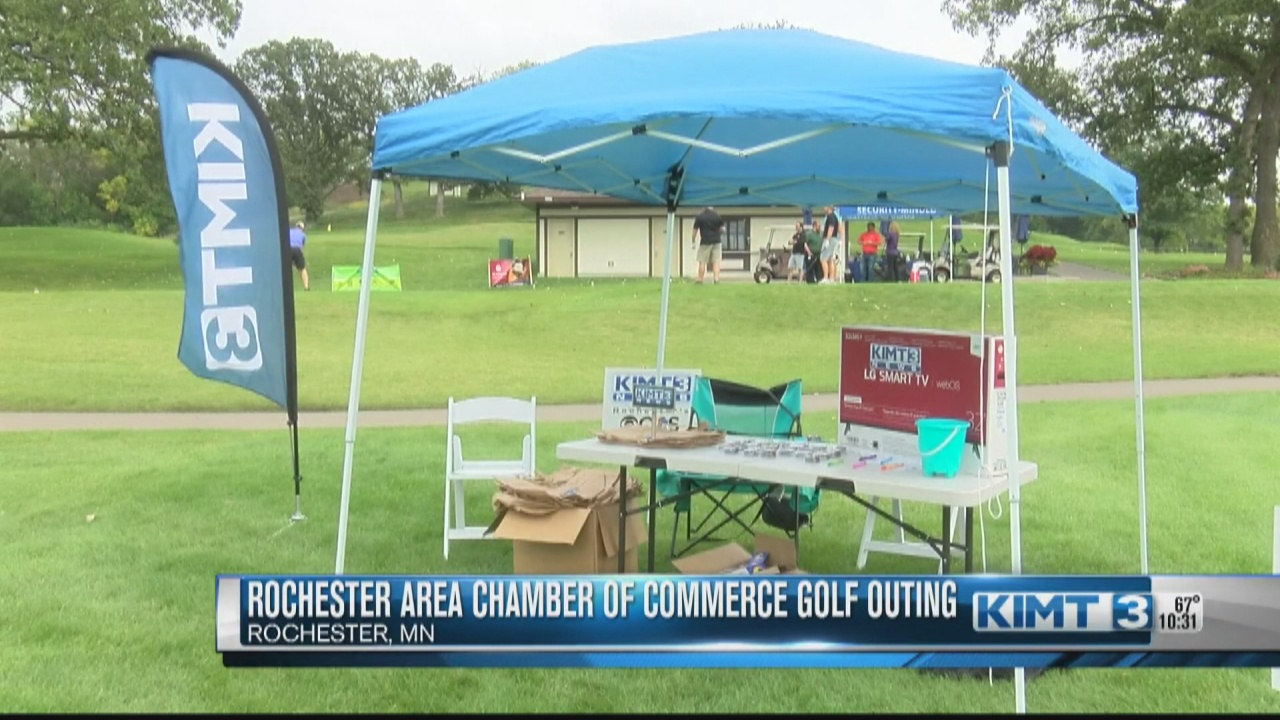 Image for Golfers teed off for the Rochester Area Chamber of Commerce golf outing