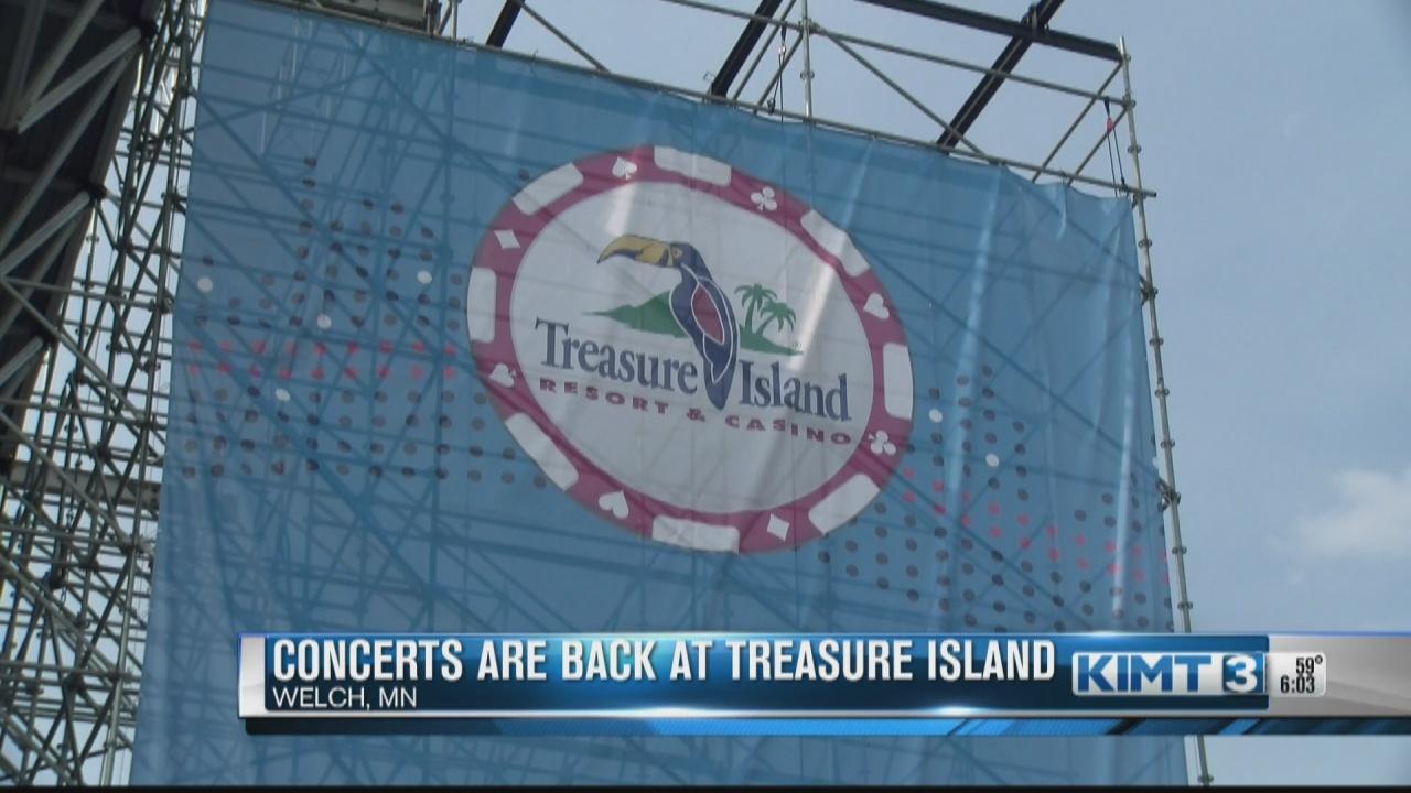 Image for Treasure Island Resort & Casino is hosting live entertainment again