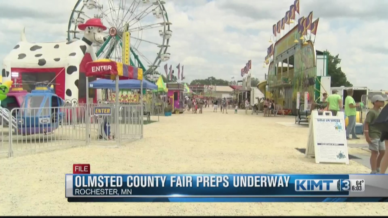 Image for Preparations for the Olmsted County Free Fair are well underway