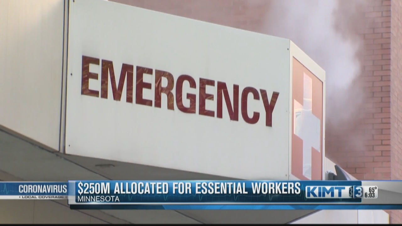 Image for Minnesota essential workers could receive paychecks they missed during the COVID-19 pandemic