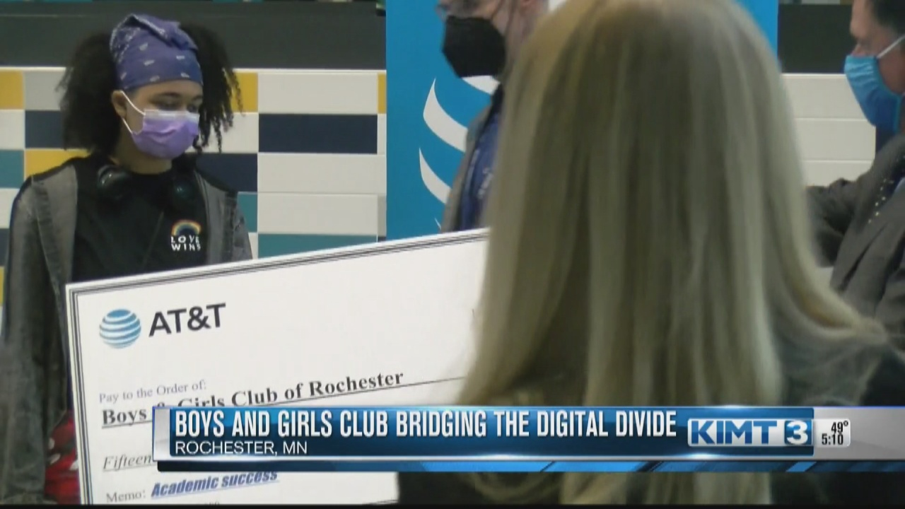 Image for Boys and Girls Club of Rochester receives $15,000 grant from AT&T Foundation