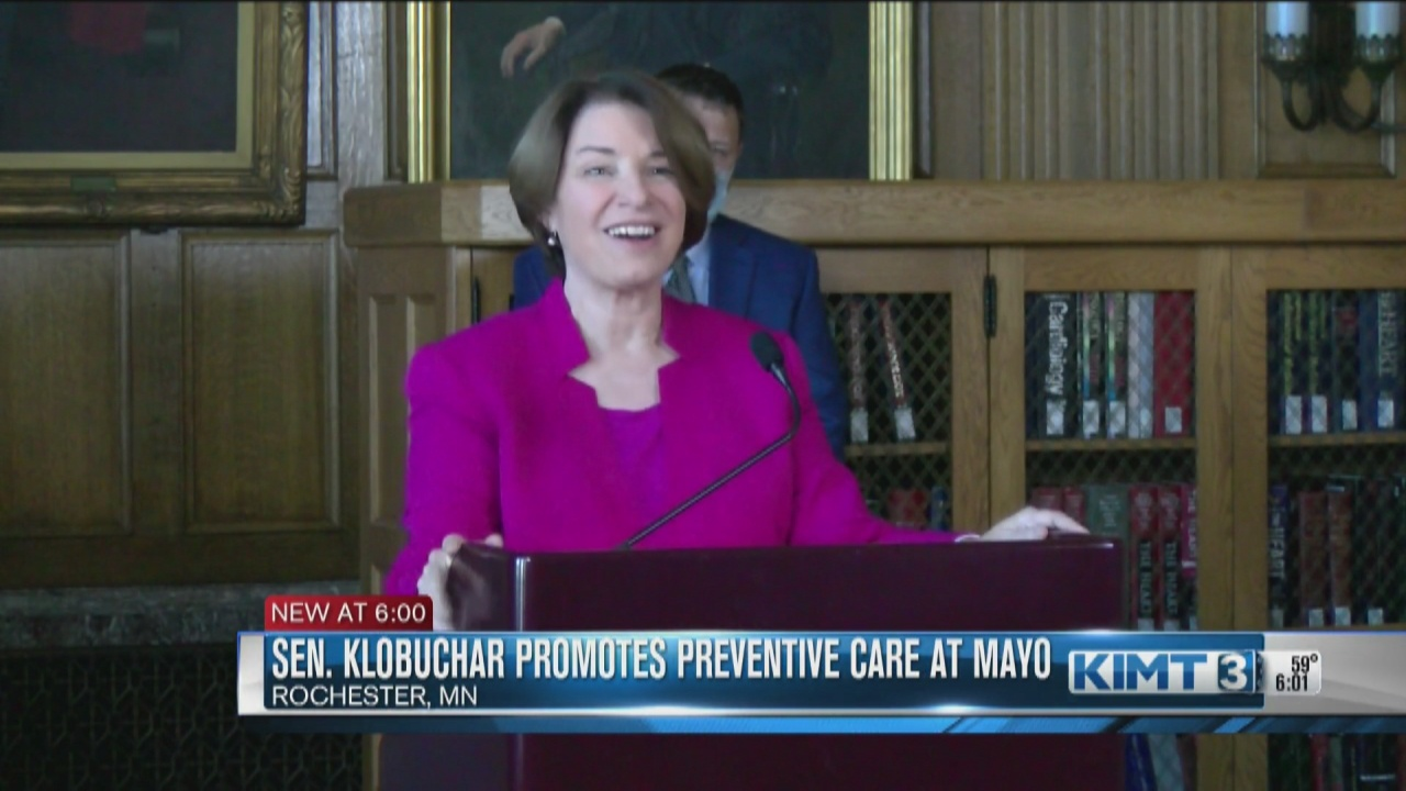 Image for Sen. Klobuchar highlights preventive care amid pandemic drop in cancer screenings