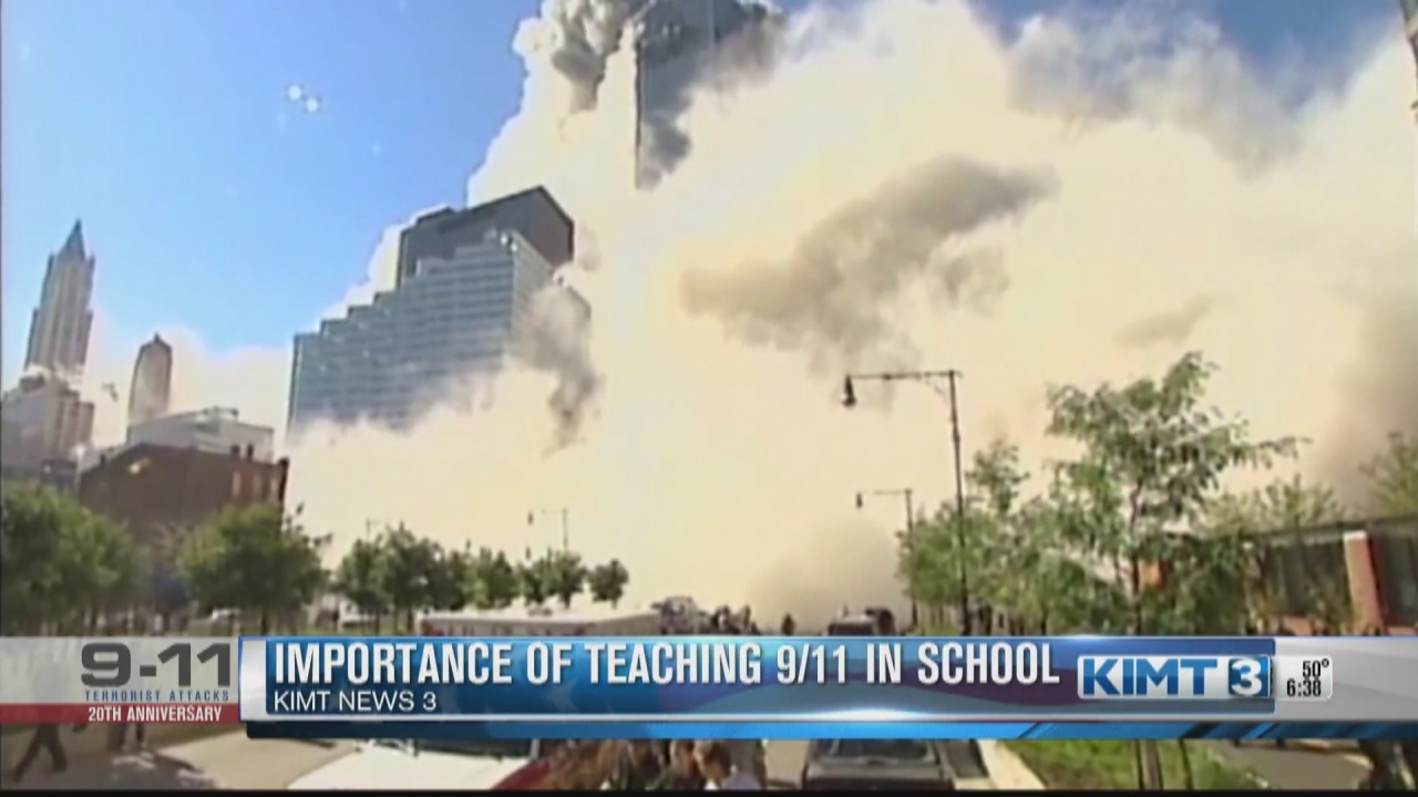 Image for One Rochester history professor breaks down why students need to learn about 9/11 in school