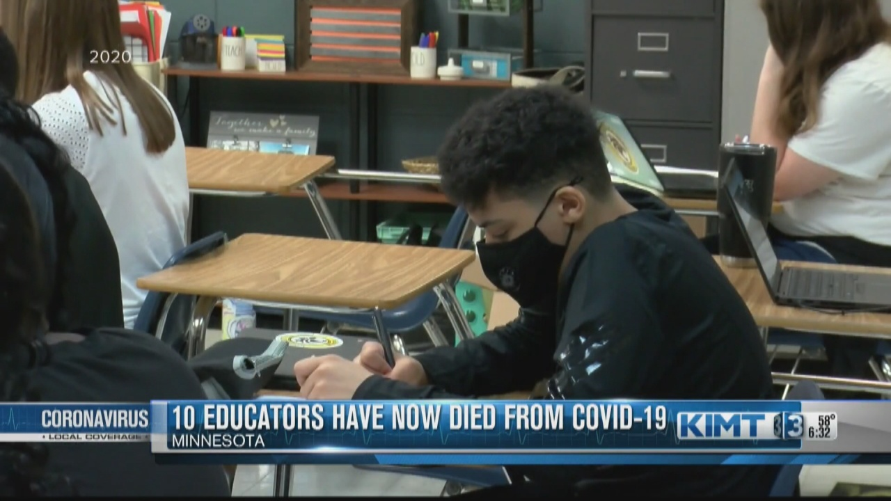 Image for There have now been 10 COVID-19 deaths reported among Minnesota school staff members