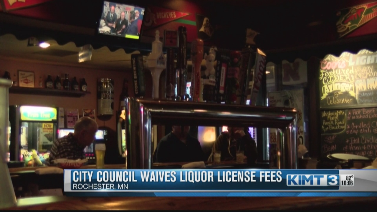 Image for Rochester waives local liquor license fees again to help pandemic recovery