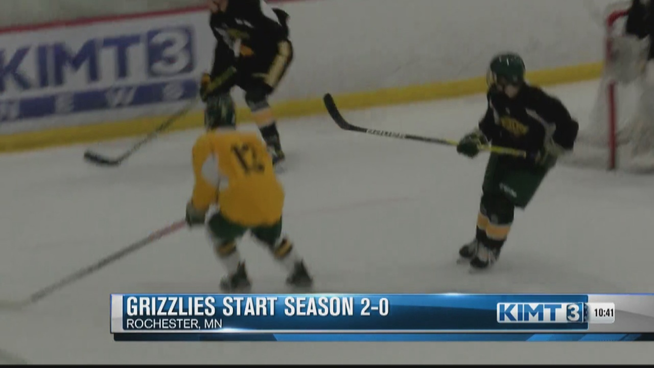 Image for Rochester Grizzlies are off to a hot 2-0 start
