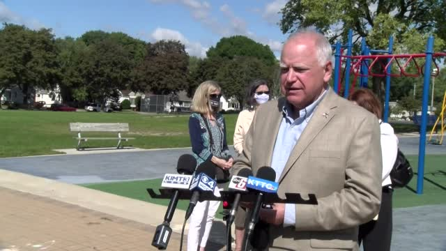 Image for Minnesota Gov. Tim Walz looks back 20 years after 9/11: 'I said at the time, everything has changed because of this'
