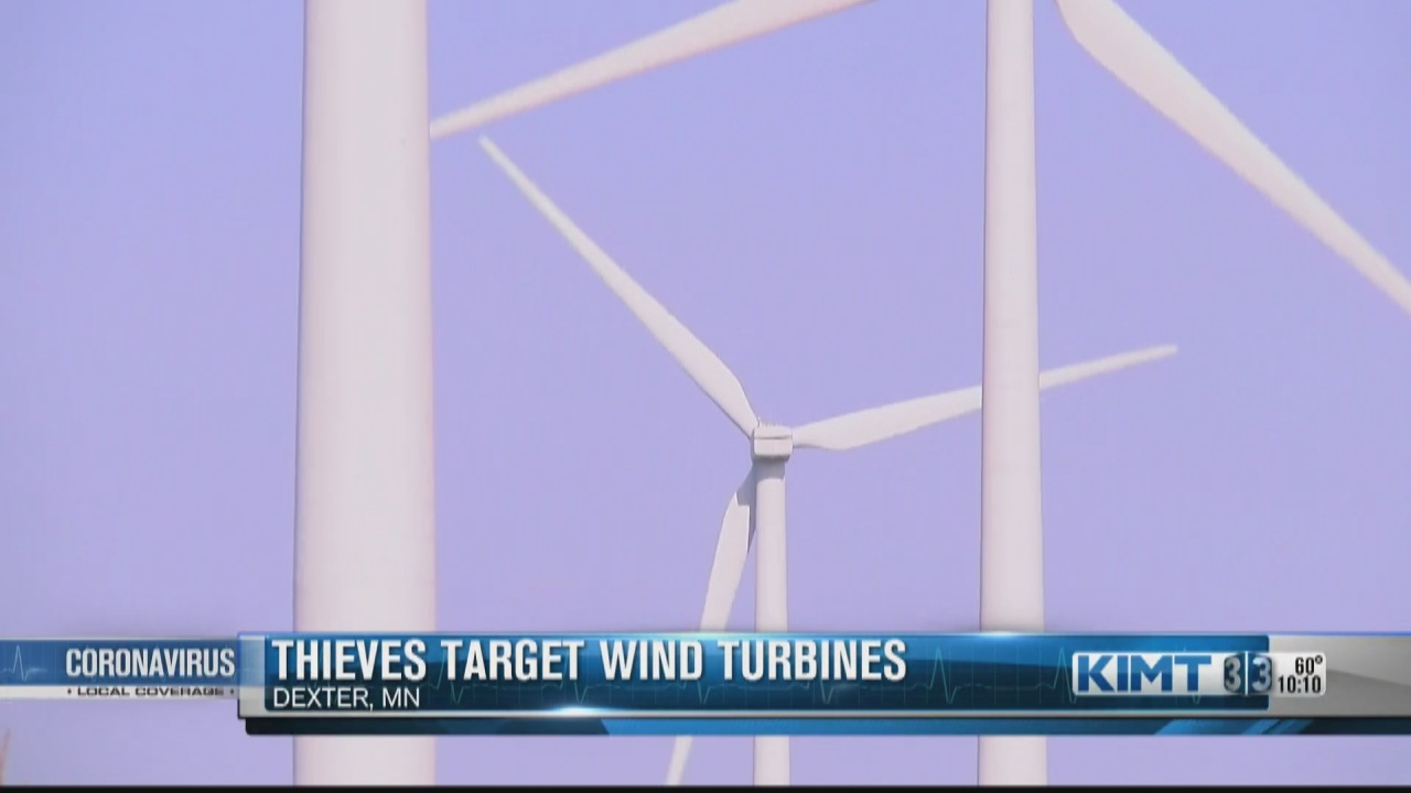 Image for Law enforcement seeking Mower Co. copper turbine thieves
