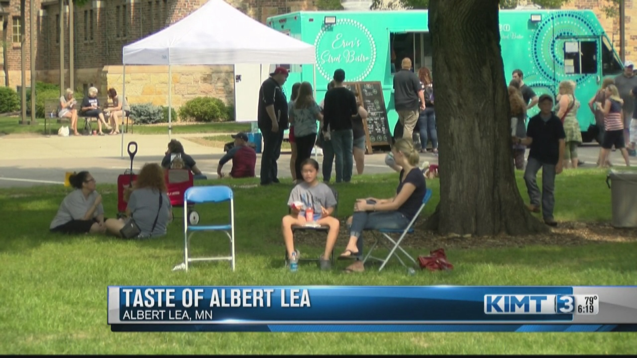 Image for Taste of Albert Lea kicks off with a crowd