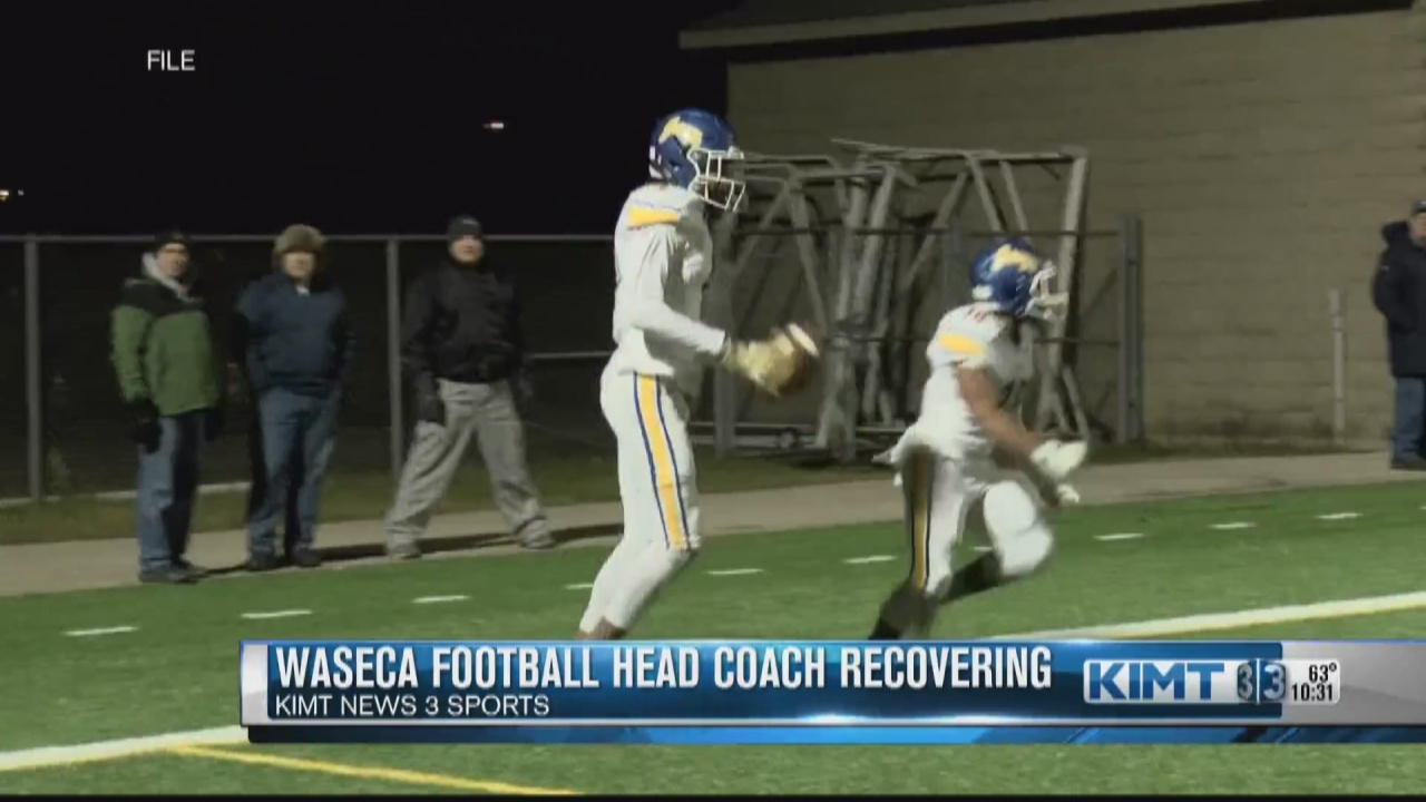 Image for Waseca football team laying it all out on the field for their Coach
