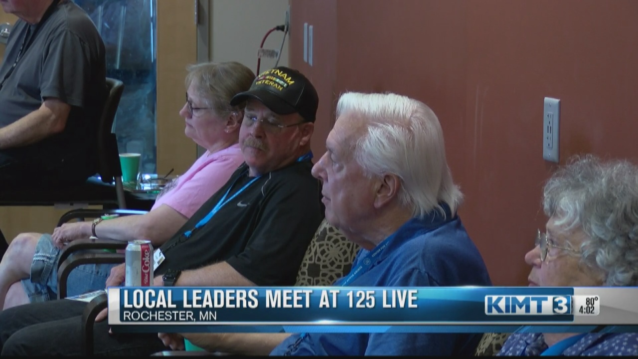 Image for Local leaders hold lunchtime meet and greet at 125 Live