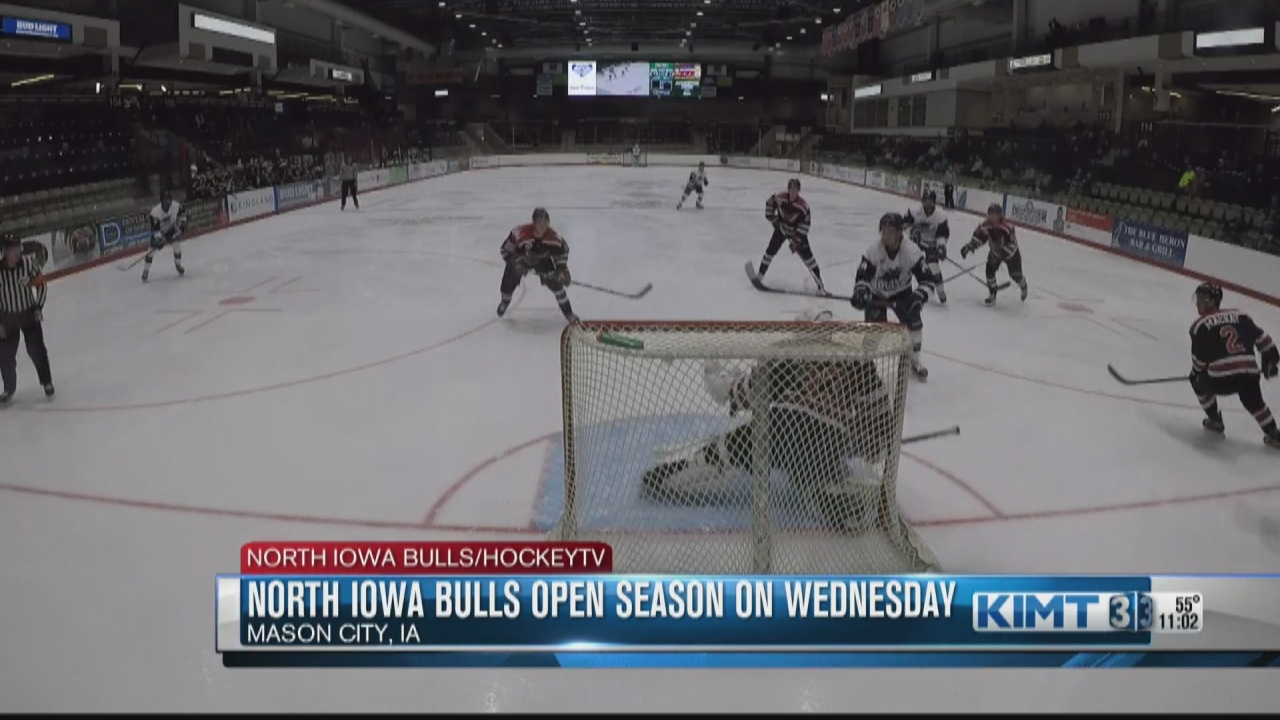 Image for The North Iowa Bulls open up their NAHL season on Wednesday