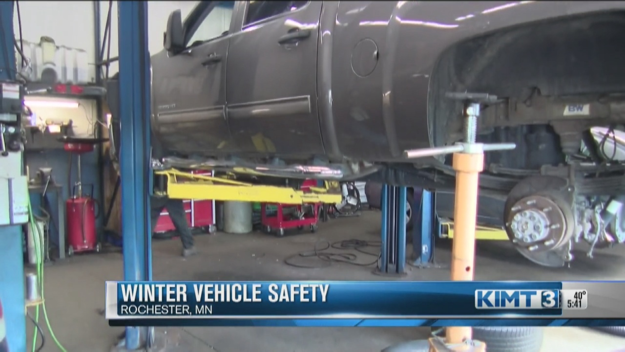 Image for Winterizing your vehicle for driving safety