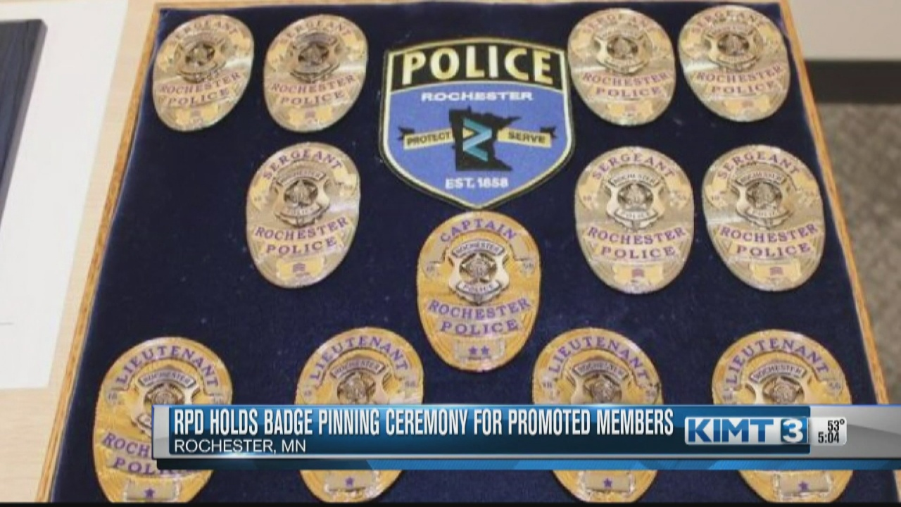 Image for Badge Pinning Ceremony