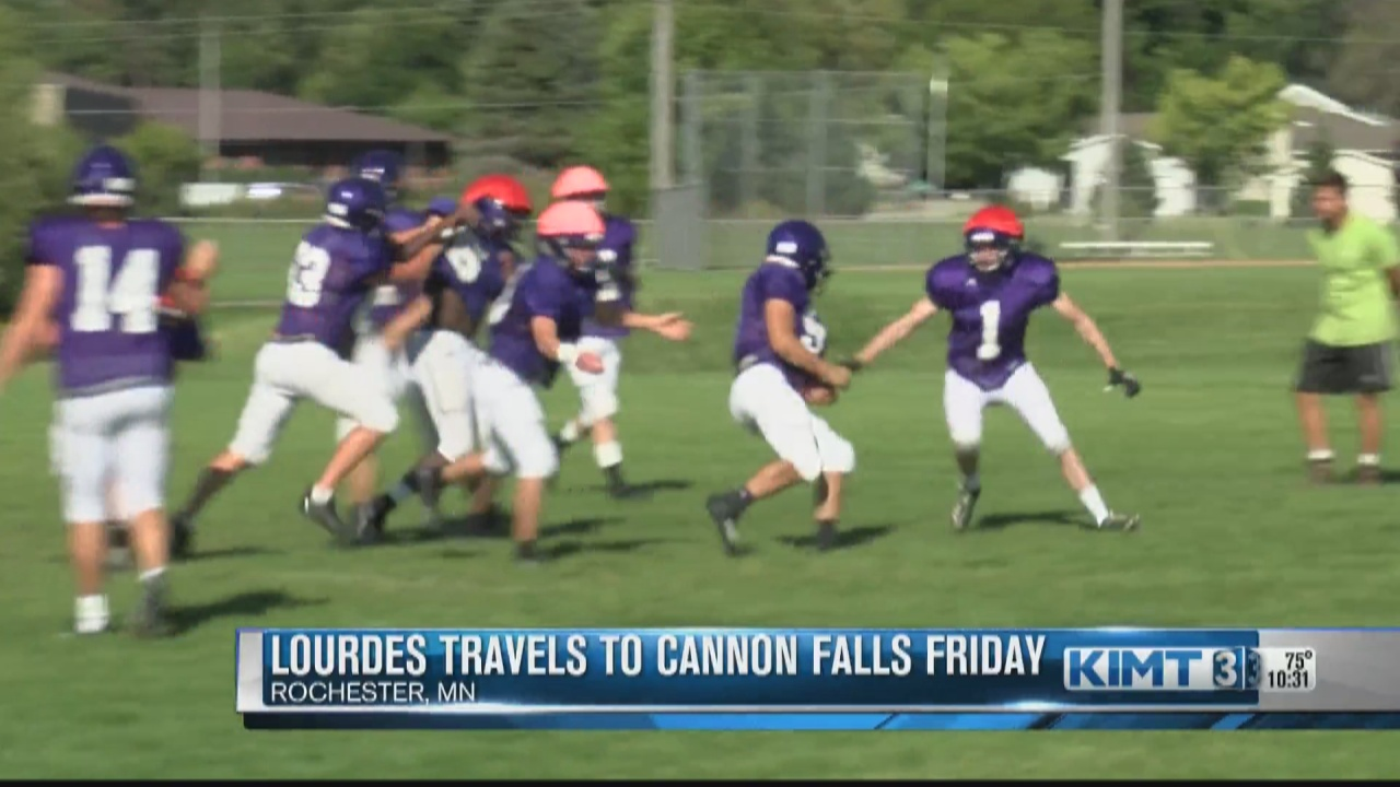 Image for The Lourdes Eagles travel to Cannon Falls for some Friday night football