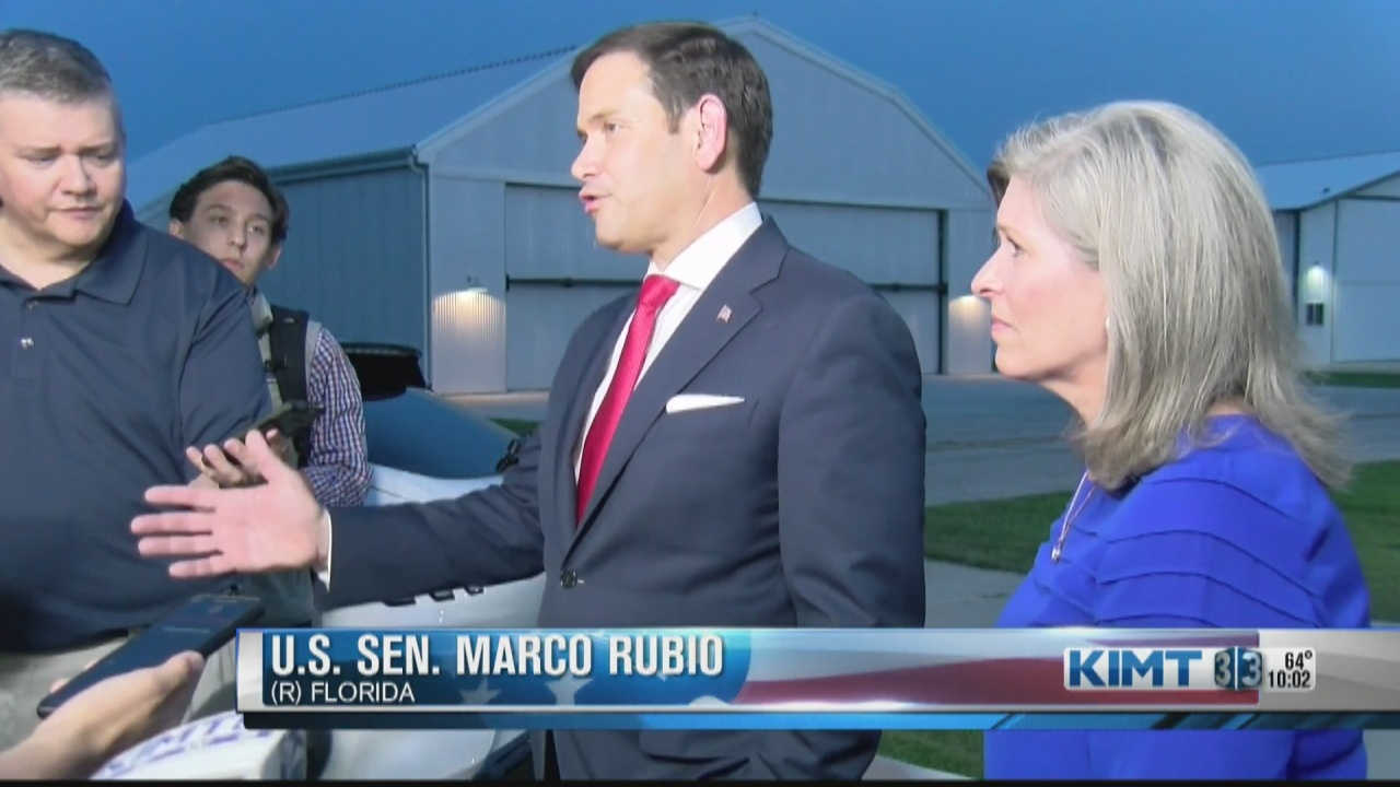 Image for Rubio, Ernst, excoriate Biden on Afghanistan withdrawal during Mason City stop