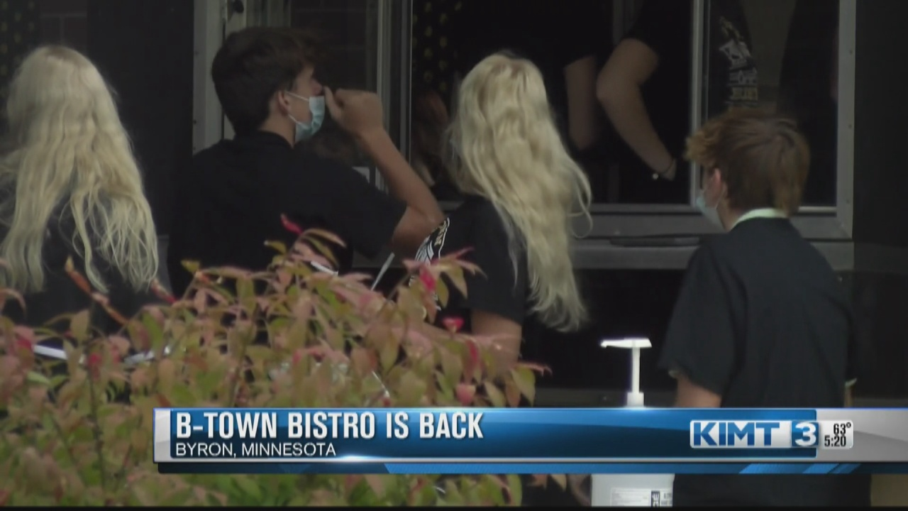 Image for Byron High School 'B-town Bistro' back in business