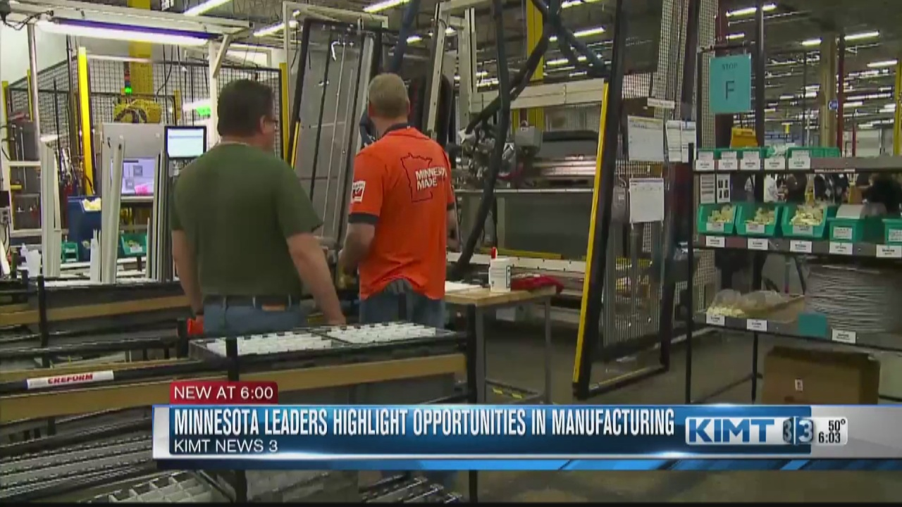 Image for Minnesota leaders highlight abundance of opportunities in manufacturing