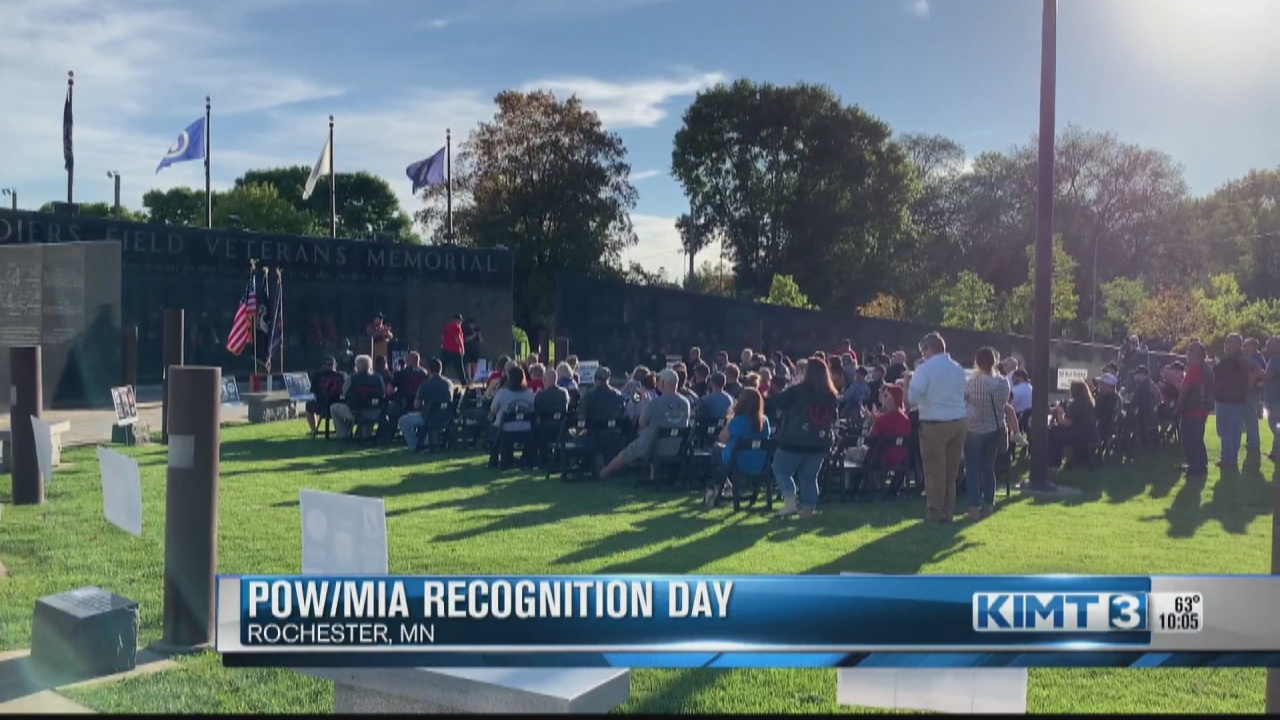 Image for Community members observe National POW/MIA Recognition Day