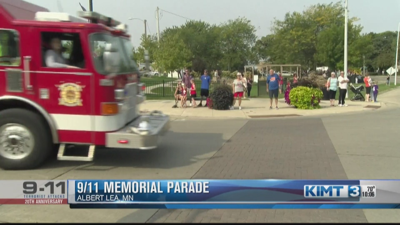 Image for Albert Lea remembers 9/11 with memorial parade