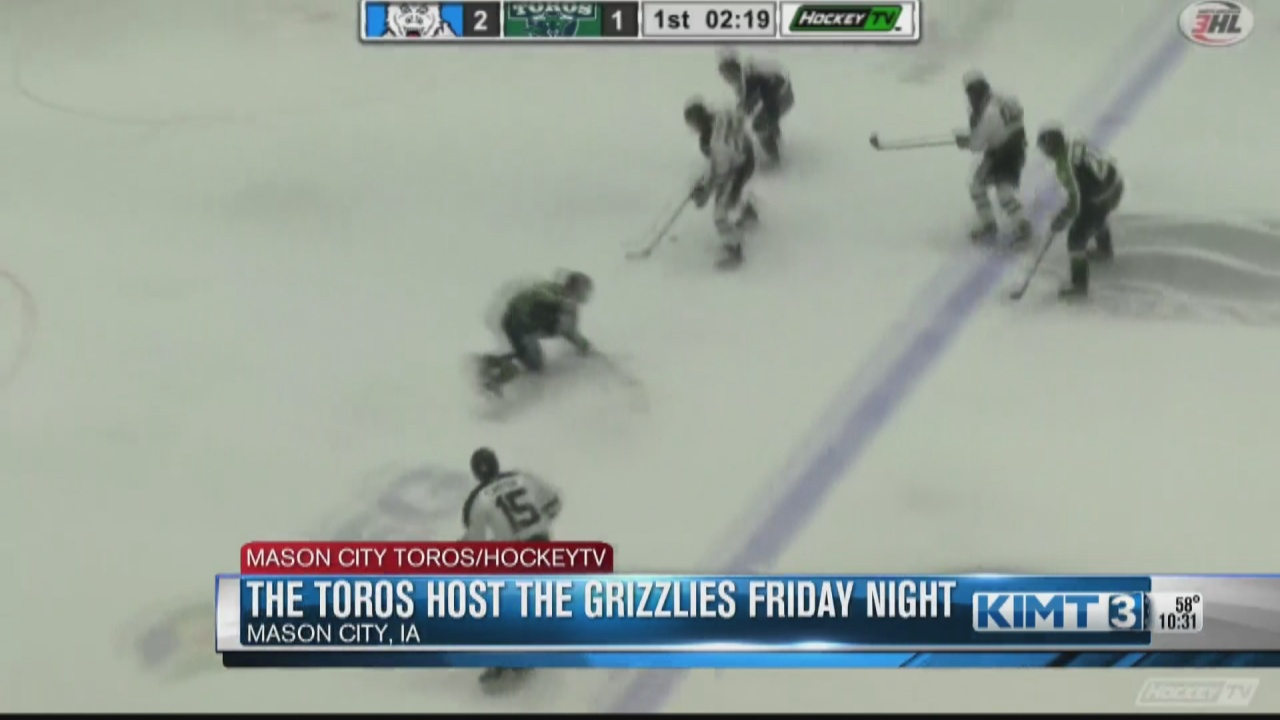 Image for The Mason City Toros host the Rochester Grizzlies Friday night